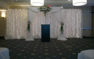Wedding Linens Lighting Niagara Falls NY